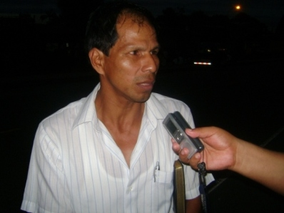 ad5e08d307 Indignado poblador Miguel Mori Santín muestra su indignación por  incumplimiento del Gobierno Regional.