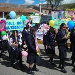 Con diversas actividades, jóvenes ayacuchanos le dijeron NO a las drogas