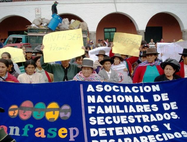 Asociación de Familiares de los Detenidos Desaparecidos de Ayacucho realizará romería a La Hoyada