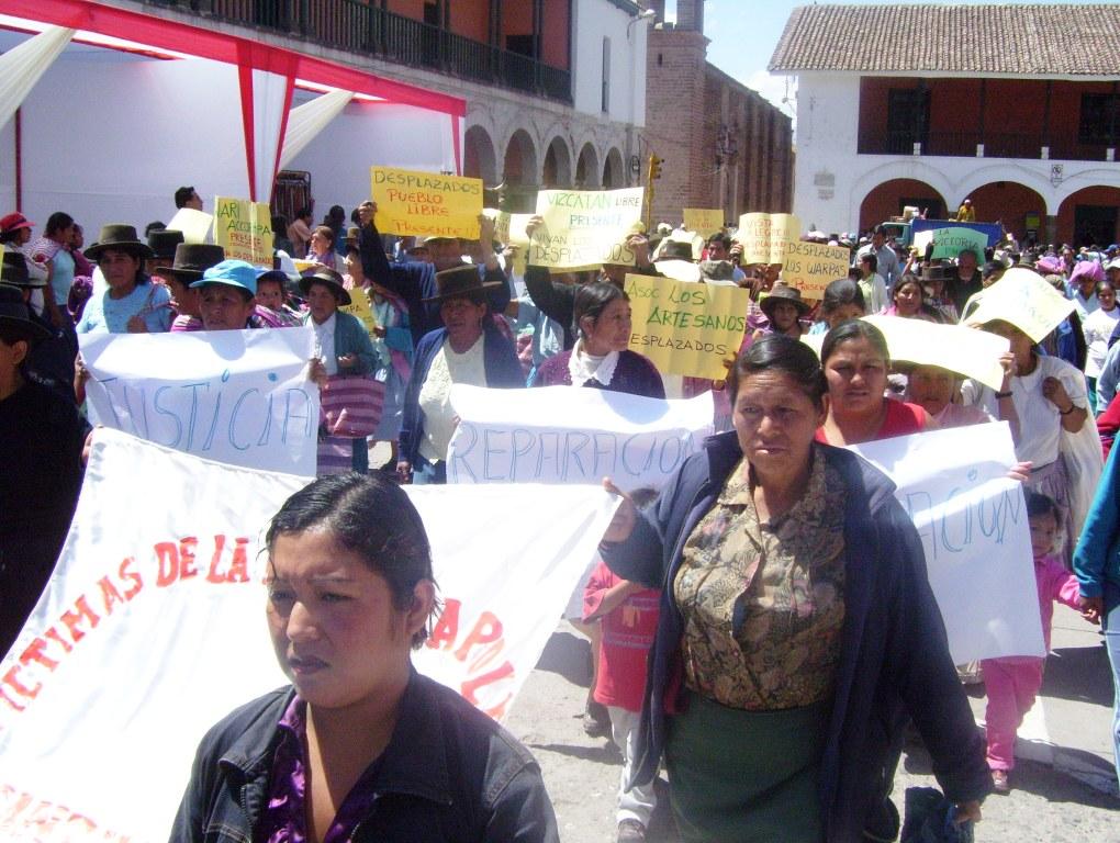 Autoridades y víctimas de la violencia política de Ayacucho continúan clamando justicia