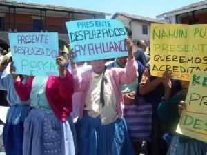 Huanta acató hoy un paro provincial por las víctimas de Putis