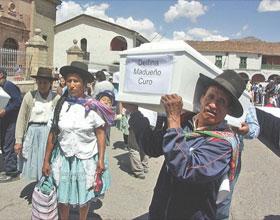 Víctimas de Putis retornaron a Huanta