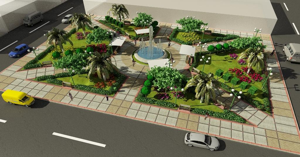 Municipalidad de leoncio prado remodelar plaza de armas y for Para desarrollar un parque ajardinado