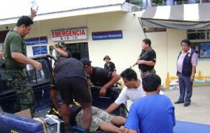 Hospital de San Francisco recibió a soldados atacados por Sendero.