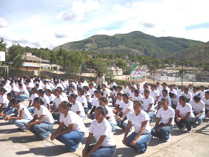 en examen de ingreso a Escuela de Suboficiales PNP de Ayacucho