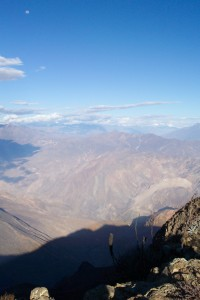 Vista panorámica del relieve de la Reserva Nacional de Calipuy.