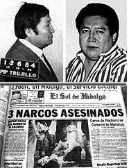 Perciles Sánchez fue procesado y absuelto entre 1984 y 1988. En 1991 fue asesinado a tiros. Segundo Simón también fue asesinado en México en 1987. La Fiscalía sostiene que el dinero de Segundo pasó a sus hermanos.