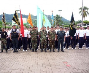 Jefe del Frente Policial Huallaga instó a los jóvenes a aprovechar esta oportunidad de prepararse para acceder a integrar la familia policial