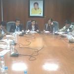 Alcaldes del VRAE se reúnen con parlamentarios en el Congreso de la República