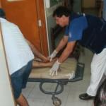 Sicarios asesinan a sujeto frente a su hija y esposa en Aucayacu