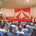Alistan Audiencia Pública Descentralizada en el distrito de Kimbiri en el VRAE