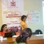 Promueven en Pucallpa igualdad de oportunidades entre hombres y mujeres