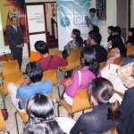 Representantes de Comisión Andina de Juristas y ProÉtica capacitan a periodistas de Huánuco