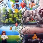 Organizan concurso de pintura sobre prevención de consumo de drogas