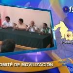 Crean comité de movilización para desastres en Pucallpa (video)