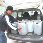 Frustran ingreso de 800 litros de kerosene al VRAE