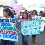 """Estudiantes y jóvenes del VRAE le dicen """"NO a las Drogas y Sí a la Vida"""""""