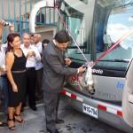 Inauguraron nuevo terminal terrestre en Tingo María