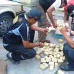"""Incautan """"narco camioneta"""" con 73 kilos de droga rumbo a Lima"""