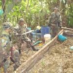 Destruyen nueve laboratorios de pasta básica de cocaína en Pumahuasi, en el Alto Huallaga