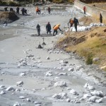 Minam evalúa sanciones contra responsables de contaminación con relave del río Opamayo en Huancavelica