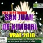 Inician preparativos para I Feria Nacional de Cacao y Café Kimbiri – VRAE 2010 (video)