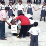 Reprograman simulacro de sismo en colegios de Kimbiri en el VRAE