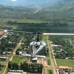 Presidente de Devida visita el Alto Huallaga con jefe de Policía Alemana