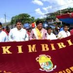 Kimbiri celebró fiestas patrias con multitudinario desfile escolar