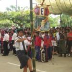 Gran celebración por Fiestas Patrias en plaza mayor de Aucayacu