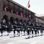 Ayacucho vibró con desfile por aniversario patrio