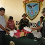 Capturan a dos hermanas con más de 5 kilos de PBC en Tingo María (video)