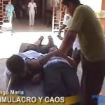 Con desorden se realizó simulacro de sismo de 7 grados en Tingo María (video)