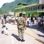 Con desorden se realizó simulacro de sismo de 7 grados en Tingo María