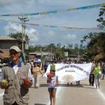 Celebran 189 aniversario de la independencia con desfile cívico patriótico en Irazola, Ucayali