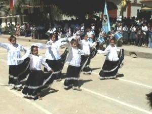 No faltó ni marinera ni huaynos ni bailes típicos de la selva