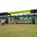 Inauguran moderno estadio deportivo en San Alejandro
