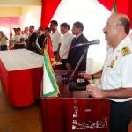 Jefe del Frente Policial Huallaga destaca patriotismo de población de Tingo María