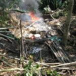 Policía destruye otros dos laboratorios de PBC en zona de erradicación de cultivos de coca