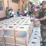 Camuflan entre cebollas cinco toneladas de insumos para droga en Tingo María (video)