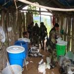 Incautan 22 kilos de cocaína y tonelada y media de insumos químicos en el valle del Monzón