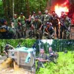 Destruyen dos laboratorios de droga y 20 hectáreas de hoja de coca ilegal en Yurimaguas