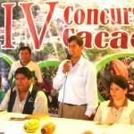 Inauguraron IV Concurso Nacional del Cacao Peruano 2010 en el VRAE