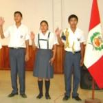 Juramentan nuevos Fiscales Escolares Ambientales en el VRAE