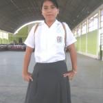 Alumna de Aucayacu ganó concurso macro regional de cuentos ecológicos
