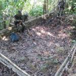 Policía destruyó tres mega laboratorios de PBC en Pumahuasi (video)