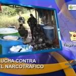 Incautan 22 kilos de cocaína y tonelada y media de insumos químicos en el Monzón (video)