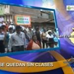 Escolares del VRAE sin clases durante 48 horas por protesta de APAFAS (video)