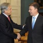 Piñera se comprometió a luchar contra terrorismo y narcotráfico