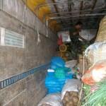 Policía Antidrogas decomisó tres toneladas de cal que iba a ser usada para elaborar droga